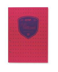 Script A4 Refill Pad - Pink