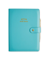 A5 Boxed Journal With Pen - Teal