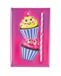 A5 Cupcake Notebook