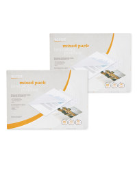 A5 Mixed Laminating Pouches 240 Pack