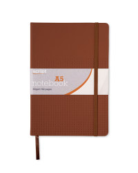 A5 Notebook - Brown