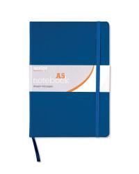 A5 Notebook - Navy Blue