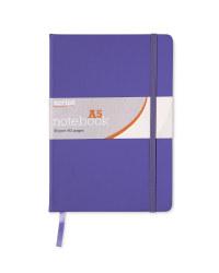 A5 Notebook - Purple