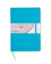 A5 Notebook - Turquoise