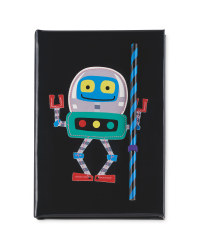 A5 Robot Notebook
