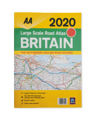AA Large Scale 2020 Road Atlas