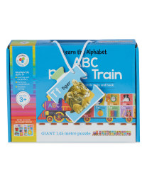 ABC Train Floor Puzzle