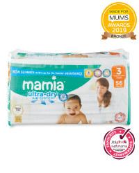 Mamia Ultra Dry Size 3 - 56 Nappies