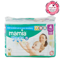 Mamia Ultra Dry Size 4 - 48 Nappies