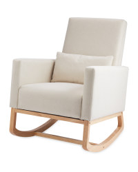 Oatmeal Accent Rocking Chair