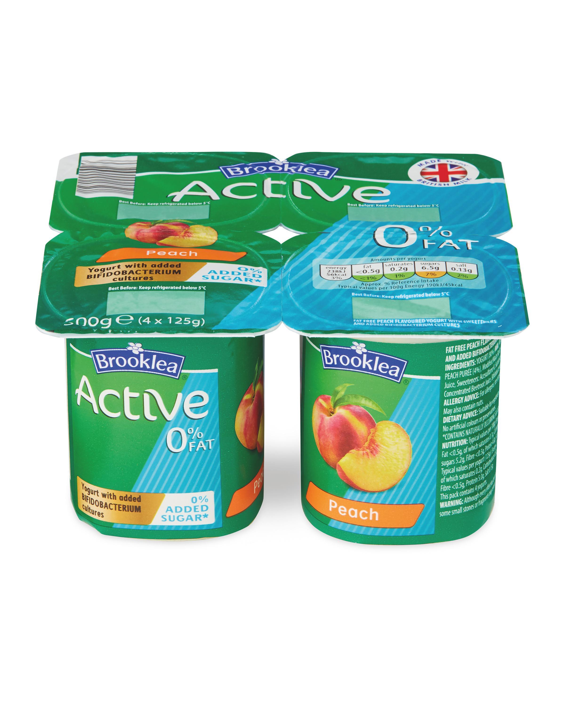 Active Yogurt Peach