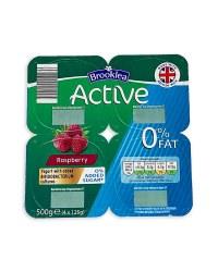 Active Raspberry Yogurt