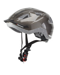 Adult's Anthracite/Black Bike Helmet