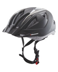Adult's Black/Silver Bike Helmet