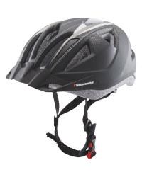 Adult's Black/Silver Bike Helmet