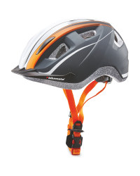 Adult's Orange Bike Helmet