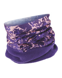 Adults Neck Warmer Fleece - Purple