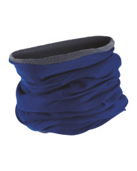 Adults Neck Warmer Reversible - Blue