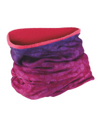 Adults Neck Warmer Reversible - Pink