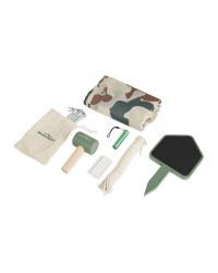 Adventuridge Den Making Kit - Green Camouflage