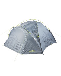 Adventuridge Dome 4 Person Tent - Grey