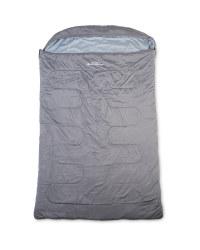 Adventuridge Double Sleeping Bag - Grey