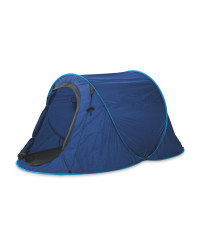 Adventuridge Festival Pop-Up Tent - Blue/Light blue