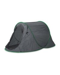 Adventuridge Festival Pop-Up Tent - Green/Grey