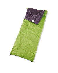 Adventuridge Festival Sleeping Bag - Green/Grey