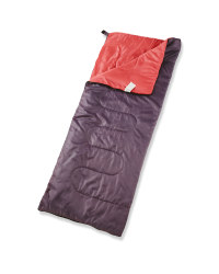 Adventuridge Festival Sleeping Bag - Grey/Coral