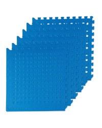Adventuridge Floor Mats With Holes - Blue