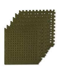 Adventuridge Floor Mats With Holes - Green
