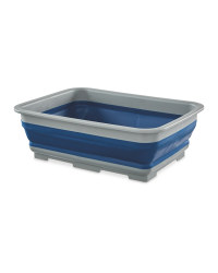 Adventuridge Folding Wash Bowl - Blue