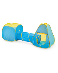 Little Town Kids Play Tent Set - Blue