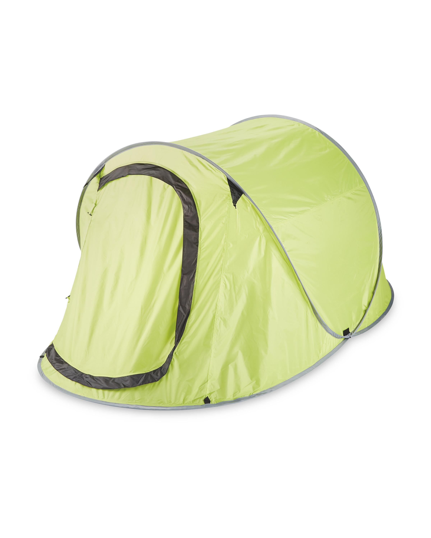 huge selection of 6bf5c 07afb Adventuridge Light Green Pop Up Tent