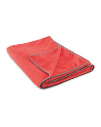 Adventuridge Microfibre Towel - Pink/Charcoal