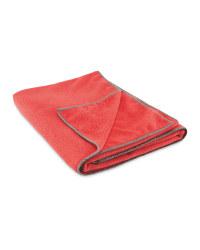 Adventuridge Microfibre Towel - Pink/Charcoal