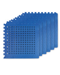 Adventuridge Perforated Floor Mats - Blue