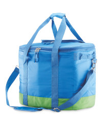 Adventuridge Picnic Cooler Bag - Blue/Green