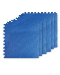 Adventuridge Puzzle Floor Mats - Blue