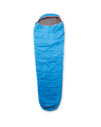 Adventuridge Sleeping Bag Right Zip - Blue/Red