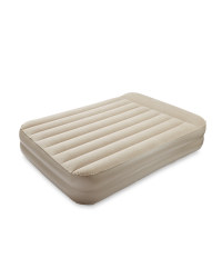 Easy Home Air Bed With Built In Pump - Sand
