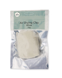 So Crafty Air Drying Clay 1kg - White