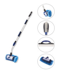 5-In-1 Navy Car Cleaning Brush