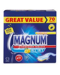 Magnum All-In-1 Dishwasher Tablets