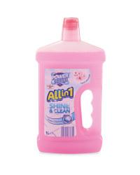 Allin1 Shine & Clean Fresh Blossom