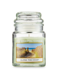 Along The Coast Candle Jar