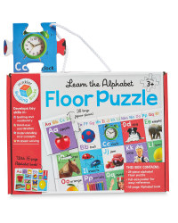 Alphabet Building Blocks Puzzles