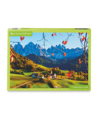 Alpine Scenery 1000 Piece Puzzle