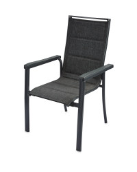 Aluminium Dining Chair Anthracite